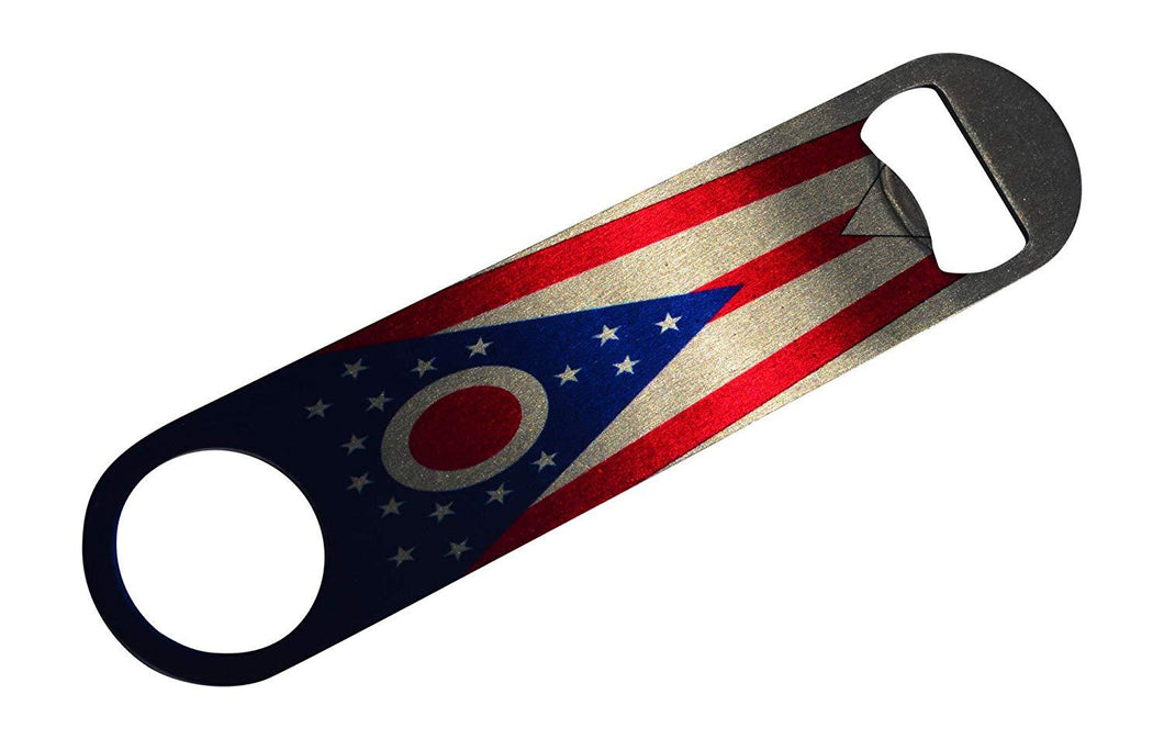 Ohio State Flag Speed Professional Bottle Opener Heavy Duty Gift OH - Bottle Openers - Rogue River Tactical  - Rogue River Tactical