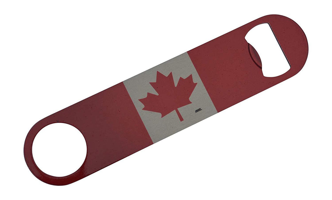 Canada Flag Speed Bottle Opener Heavy Duty Gift Canadian Maple Leaf - Bottle Openers - Rogue River Tactical  - Rogue River Tactical