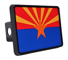 Rogue River Tactical Arizona State Flag Trailer Hitch Cover Plug AZ - Hitch Covers - Rogue River Tactical  - Rogue River Tactical