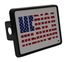 Rogue River Tactical USA American Flag Trailer Hitch Cover Plug US Patriotic Merica United States of America - Hitch Covers - Rogue River Tactical  - Rogue River Tactical
