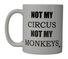 Funny Coffee Mug Best Mom Circus Monkeys Novelty Cup Great Gift Idea For Mom Mothers Day Boss Employer - Coffee Mugs - Rogue River Tactical - Rogue River Tactical