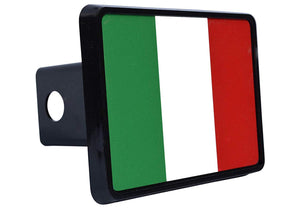 Rogue River Tactical Italy Italian Flag Trailer Hitch Cover Plug Gift Idea - Hitch Covers - Rogue River Tactical  - Rogue River Tactical