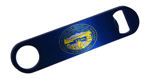 Nebraska State Flag Speed Professional Bottle Opener Heavy Duty Gift NE - Bottle Openers - Rogue River Tactical  - Rogue River Tactical