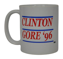 Bill Clinton Al Gore 1996 Funny Coffee Mug Election 96 Democrat Liberal Political Novelty Cup Great Gift Idea For DNC Feminist Resist Impeach Trump - Coffee Mugs - Rogue River Tactical  - Rogue River Tactical