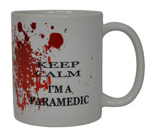 EMT Funny Coffee Mug Keep Calm I'M A Paramedic Novelty Cup Great Gift Idea For EMT EMS Paramedic Ambulance - Coffee Mugs - Rogue River Tactical  - Rogue River Tactical