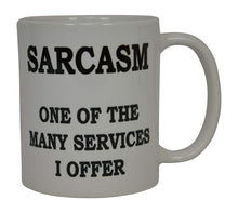 Best Funny Coffee Mug sarcasm One Of The many services I Offer Sarcastic Novelty Cup Joke Great Gag Gift Idea For Men Women Office Work Adult Humor Employee Boss Coworkers - Coffee Mugs - Rogue River Tactical  - Rogue River Tactical