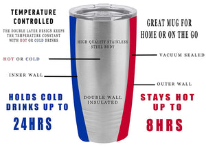 Funny Realtor Real Estate Sales 20 Oz. Travel Tumbler Mug Cup w/Lid Vacuum Insulated Everything I Touch Turns Sold Gift Salesperson Associate - Tumblers - Rogue River Tactical  - Rogue River Tactical