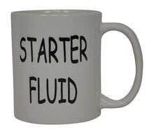 Funny Mechanic Coffee Mug Starter Fluid Novelty Cup Great Gift Idea For Men Car Enthusiast Humor Brother or Friend - Coffee Mugs - Rogue River Tactical  - Rogue River Tactical