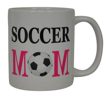 Soccer Mom Coffee Mug Best Mother Novelty Cup Great Gift Idea For Mom Mothers Day Wife Or Parent - Coffee Mugs - Rogue River Tactical  - Rogue River Tactical