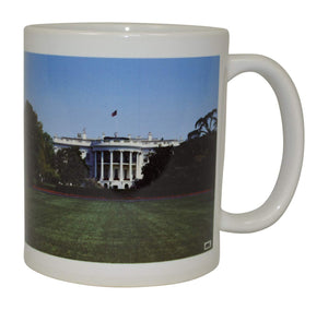 Best Coffee Mug The White House Novelty Cup Great Gift Idea Washington DC President - Coffee Mugs - Rogue River Tactical  - Rogue River Tactical