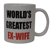Best Funny Coffee Mug World's Greatest Ex-Wife Wife Novelty Cup Wives Great Gift Idea For Mom Mothers Day Mom Grandma Spouse Bride Lover Or Parent (Ex-Wife) - Coffee Mugs - Rogue River Tactical  - Rogue River Tactical