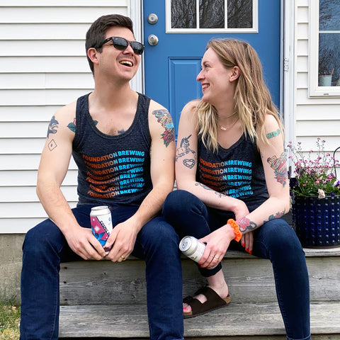 Ombre Foundation Brewing Unisex Tank