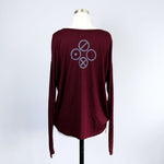 Women's Drapey Long Sleeve Top