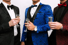 Load image into Gallery viewer, Blue Silk Tuxedo