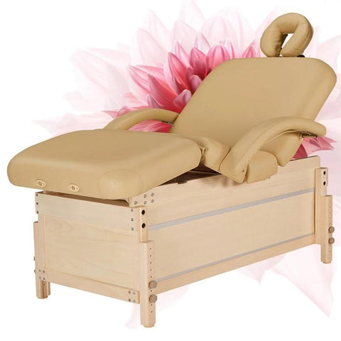 Table de Massage en Bois fixe