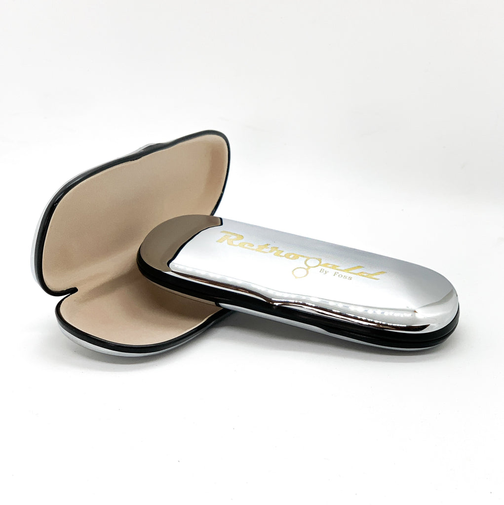 RetroGold glasses case