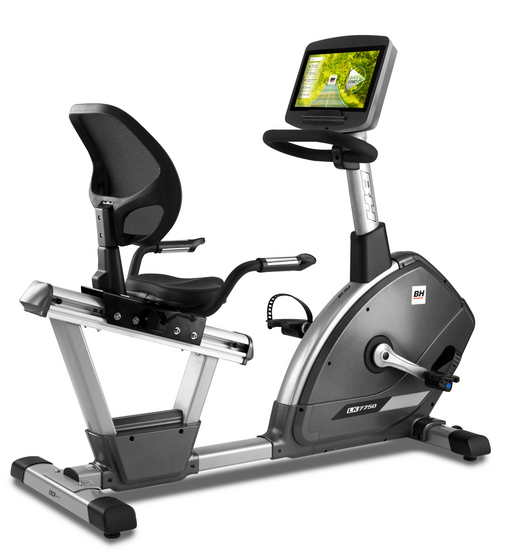 "BH-Fitness Liegeergometer LK7750/H775 SMART FOCUS 16"" Zoll Touchscreen"