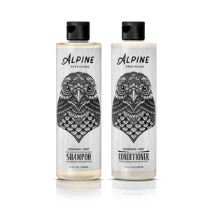 <span>Rosemary + Mint Shampoo & Conditioner Duo</span><br><span> BUNDLE</span> (Save $12.00)