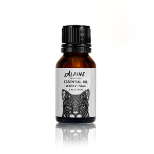 Essential Oil Blend <br/>  Vetiver + Sage