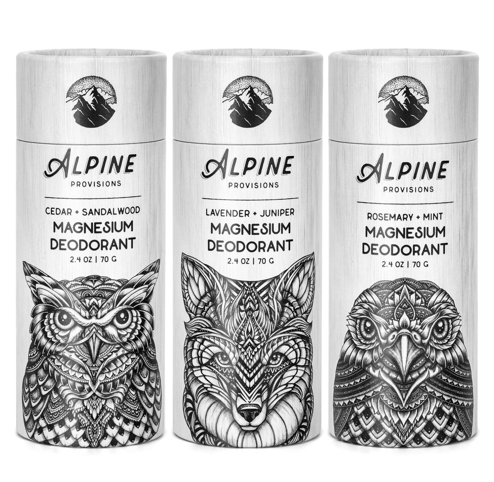 <span>Magnesium Deo </span><br><span>Cedar, Lavender, & Rosemary BUNDLE</span> (Save $5.00)