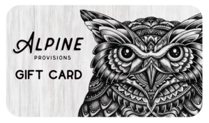Alpine Provisions Gift Card