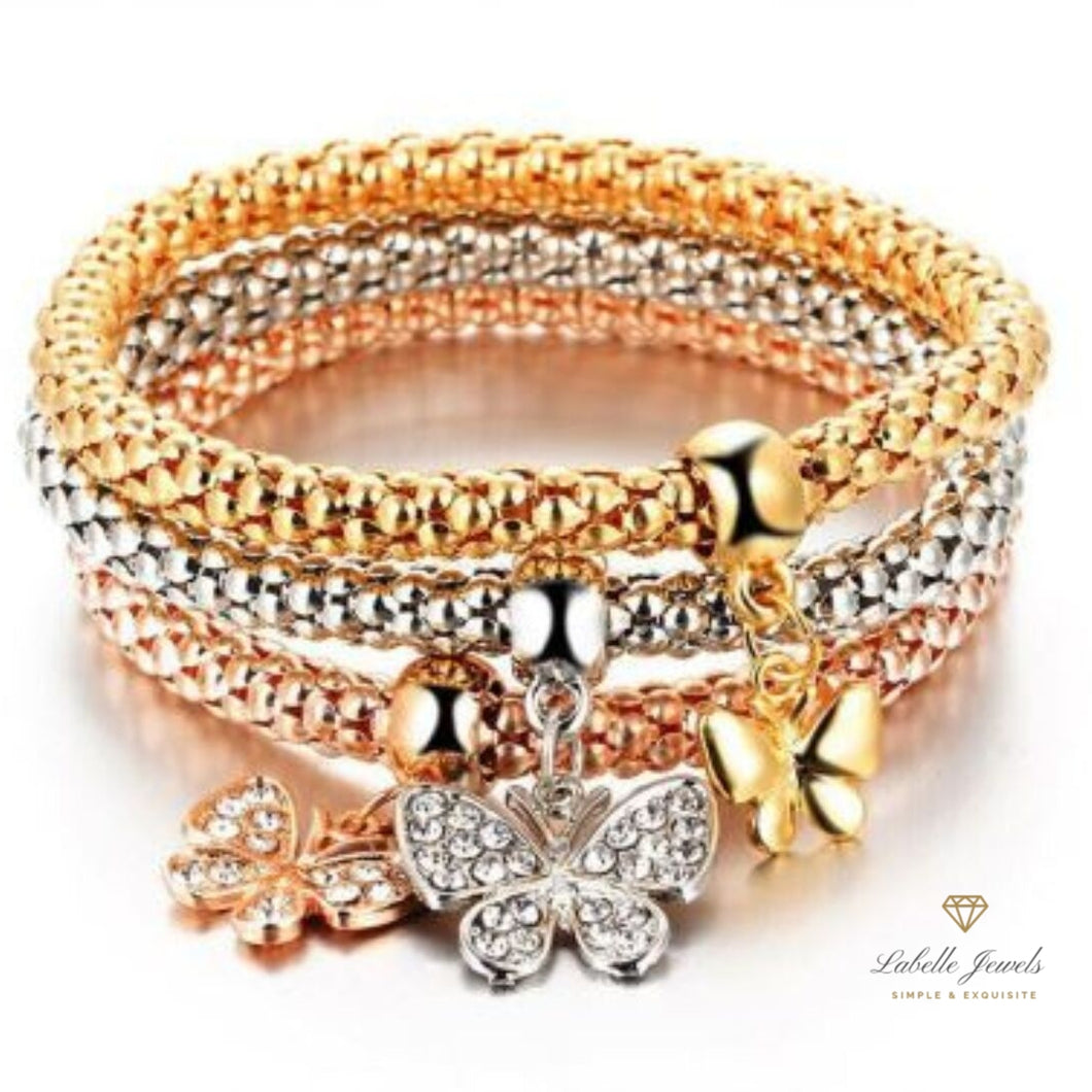 Labelle Jewels | Butterfly Charm Bracelets