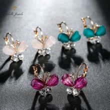Load image into Gallery viewer, Labelle Jewels | Dainty Mini Butterfly Stud Earrings