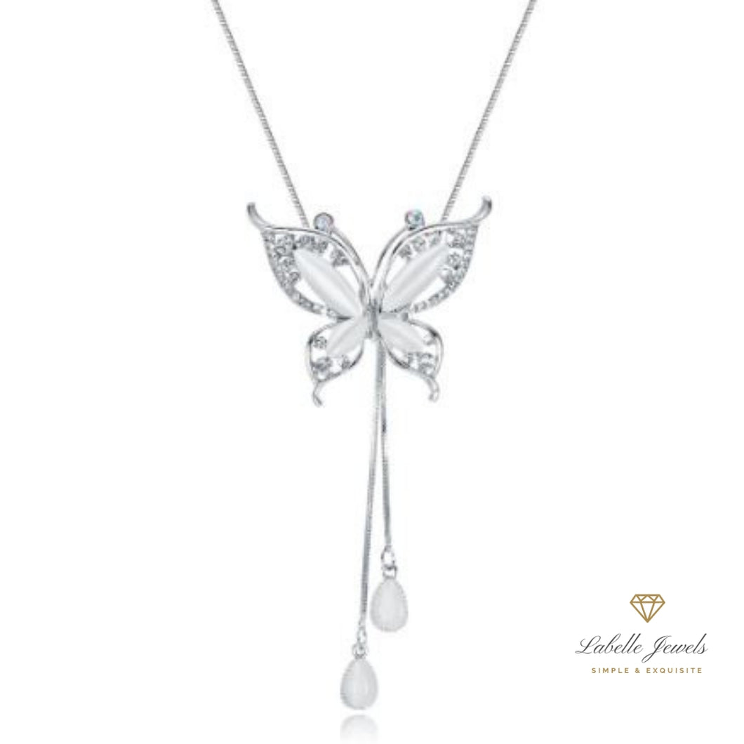 Labelle Jewels | Angelic Butterfly Long Necklace