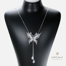 Load image into Gallery viewer, Labelle Jewels | Angelic Butterfly Long Necklace