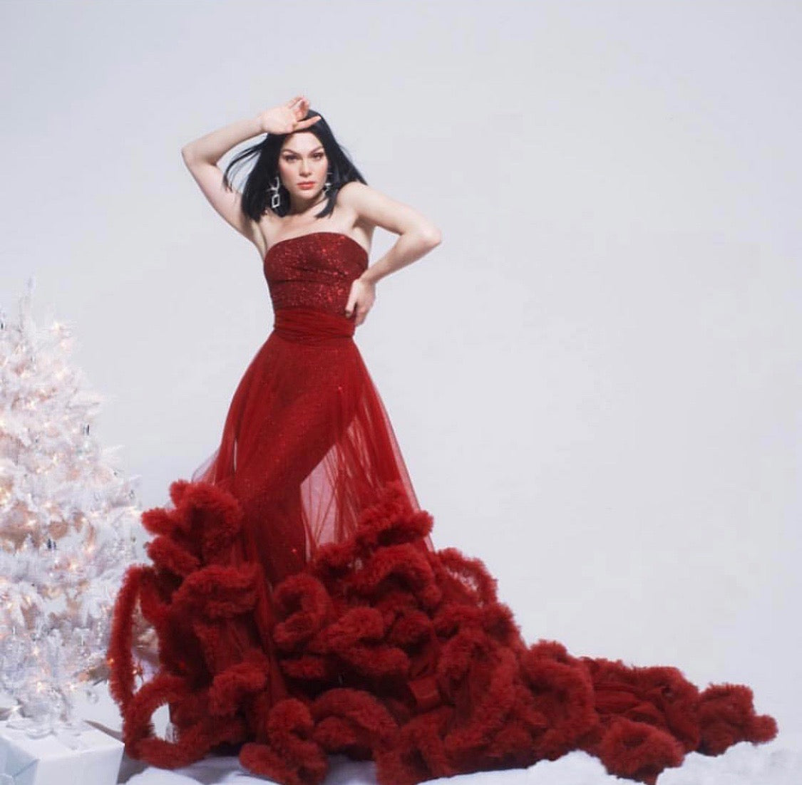 Jessie J Christmas Album Cover 2018