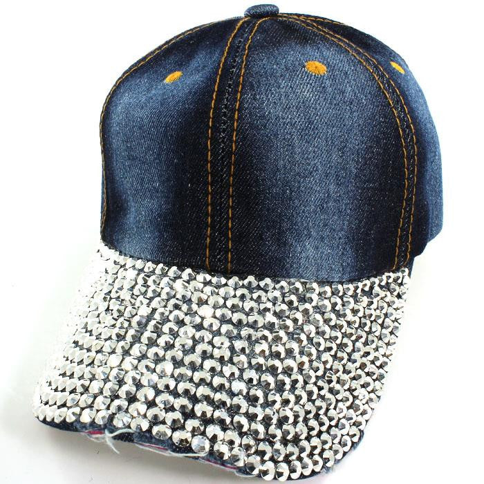 Stone Washed Dazzled Hat