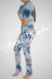 Crystal Drop Jeans