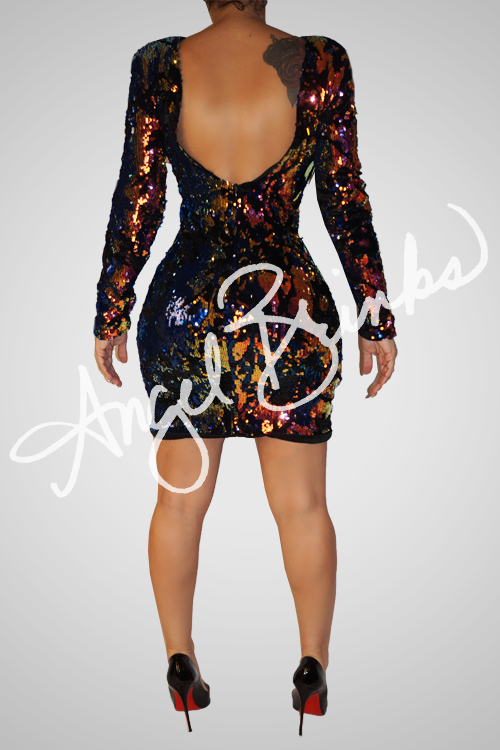 Alternative image for Sequin Swirl Dress