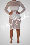 Fashion Bomb Classic (White Knit) - Thumbnail