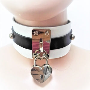 Heart Lock Choker