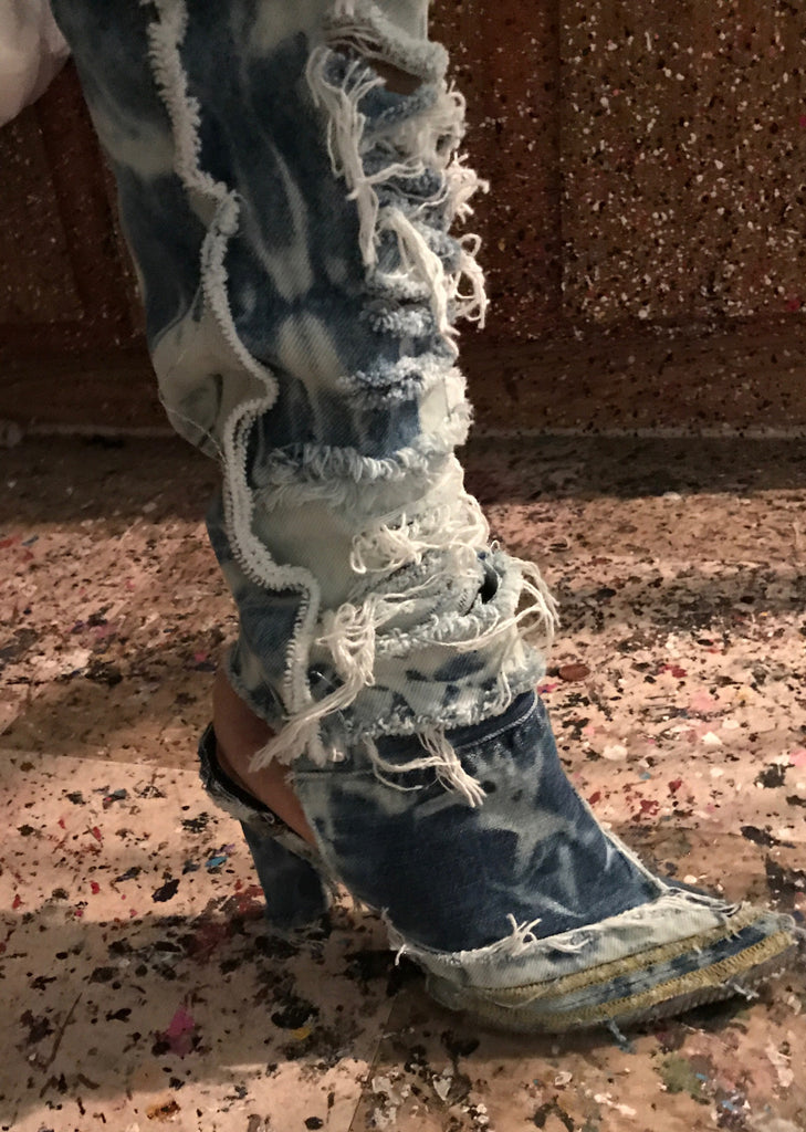 Jeanus Denim Boots