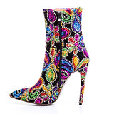 Pretty Floral Boots