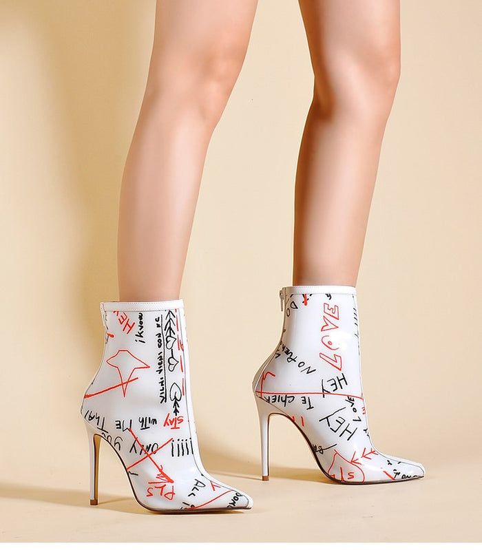 Alternative image for It Was Written Booties (White)