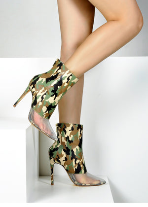 Army Fatigue Booties