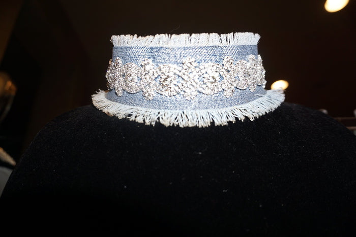 Alternative image for AB Jean & Rhinestone Choker