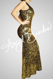 Pure Sequins Dress (Gold)