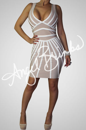 Beams Bandage Dress
