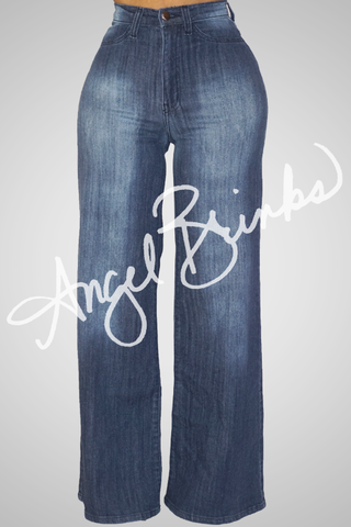 Jean Bell Bottoms (Dark)