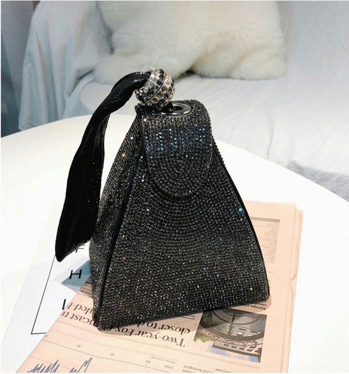 Alternative image for Eiffel Handbag (Black)