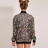 Rainbow Colored Sequin Jacket (Only) - Thumbnail