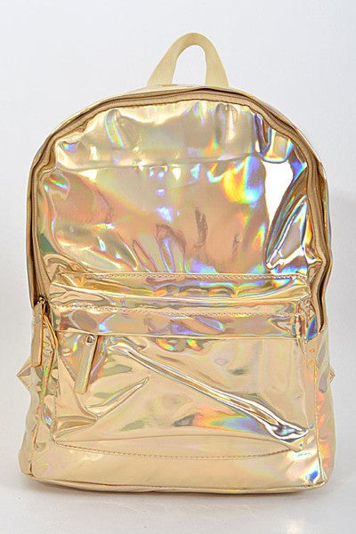Retro Backpack Gold