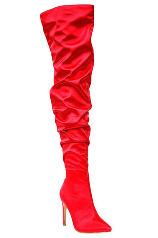 Star Status Boots (Red)