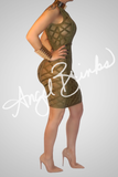 Nobility Bandage Dress (Olive) - Thumbnail