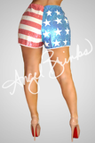 Sequin Flag Shorts - Thumbnail