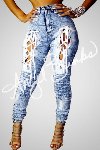 Shoe Laced Jeans